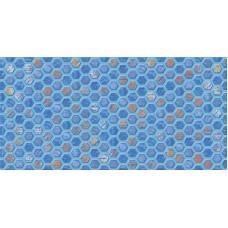 Декор  AXIMA Альпы D1 синяя 30х60