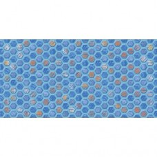 Декор AXIMA Анкона D1 синяя 30х60