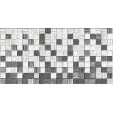 Настенная плитка Мегаполис серая мозаика 25х50