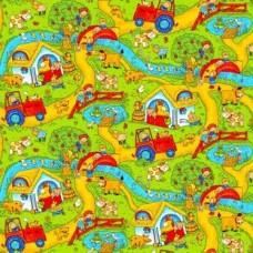 Ковролин Нева Тафт Детская коллекция велюр Каникулы 600