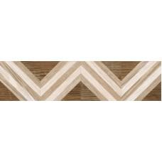 Напольный Керамогранит Marseille коричневый узор 15x60