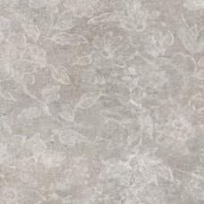 Напольный Керамогранит Paris темно-серые цветы 60х60